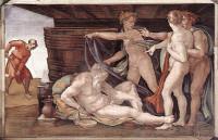 Michelangelo Buonarroti: Noah's Drunkenness