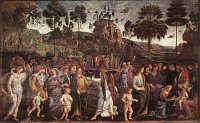 Pietro Perugino: Moses' Journey into Egypt