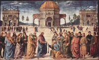Pietro Perugino: Jesus Handing the Keys to Peter
