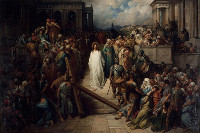 Gustave Dor�: Christ Leaving the Praetorium