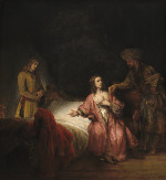 Rembrandt Harmensz. van Rijn: Joseph Accused by Potiphar's wife (Washington)