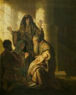 Rembrandt Harmensz. van Rijn: Simeon's Prophecy to Mary