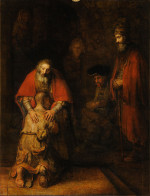 Rembrandt Harmensz. van Rijn: The Return of the Prodigal Son (1668)