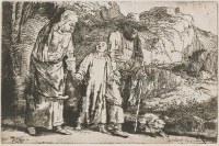 Rembrandt Harmensz. van Rijn: Jesus and his Parents Return from the Temple