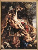 Peter Paul Rubens: Raising of the Cross