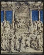 Hans Holbein the Younger: Solomon Receives the Queen of Sheba