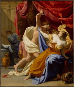 Eustache Le Sueur: The Rape of Tamar