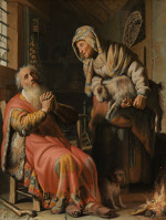 Tobit and Anna with the Goat (1626)