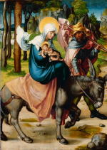 Albrecht Dürer: Seven Sorrows: The Flight into Egypt