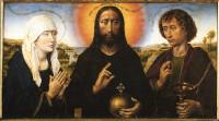 Rogier van der Weyden: Mary, Jesus, John the Evangelist