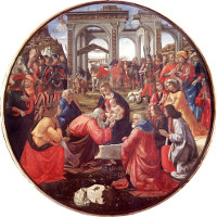 Adoration of the Magi, Ghirlandaio