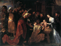 Adoration of the Magi, Rubens