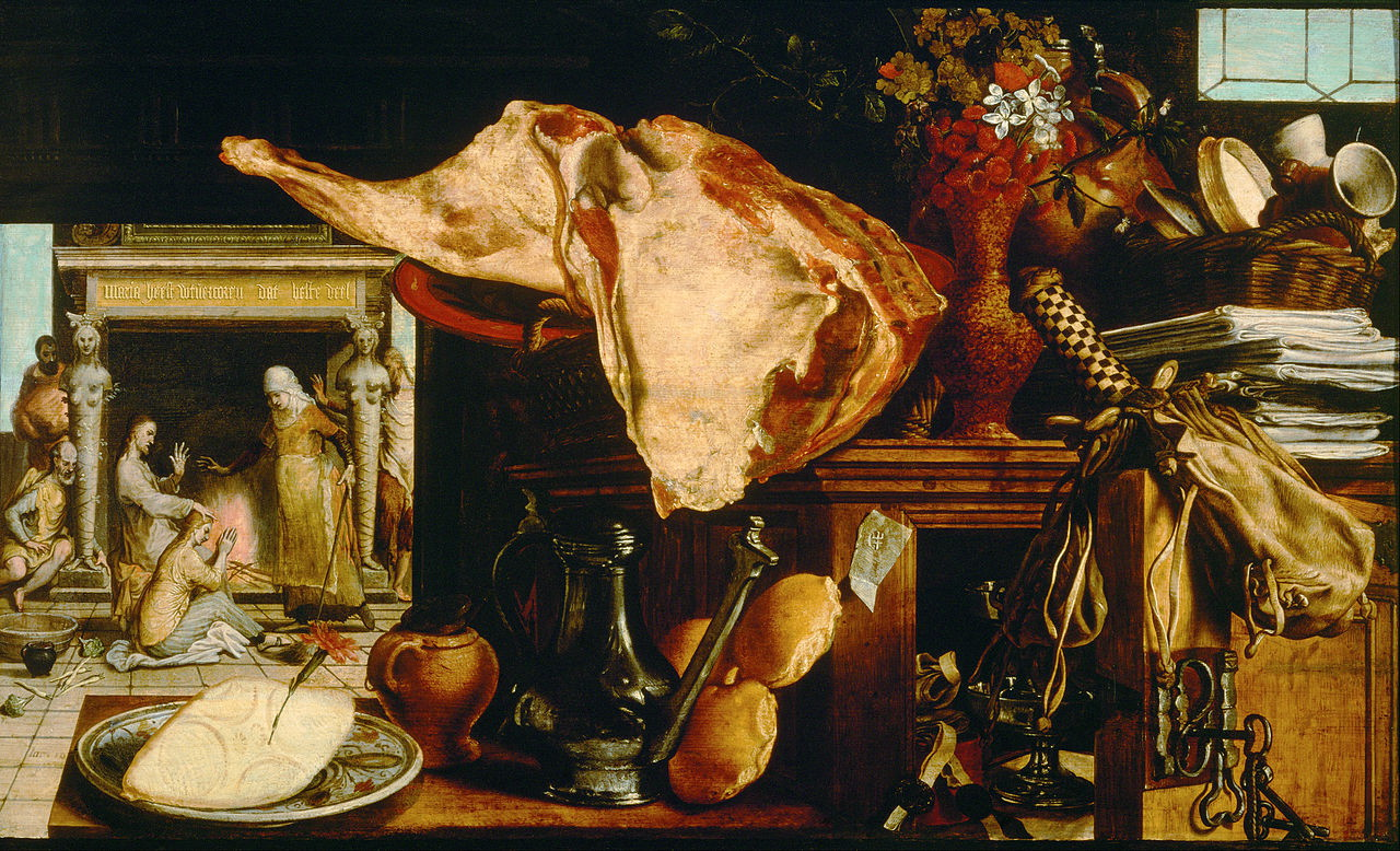 Pieter Aertsen Christ In The House Of Martha And Mary