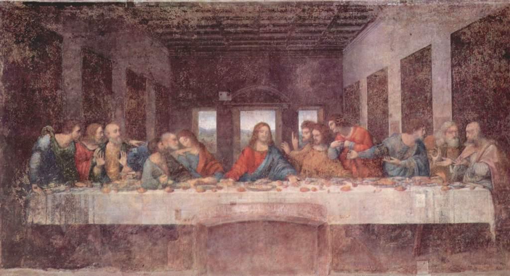 Leonardo Da Vinci The Last Supper 1