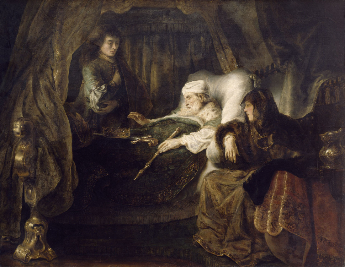 Ferdinand Bol David S Dying Charge To Solomon