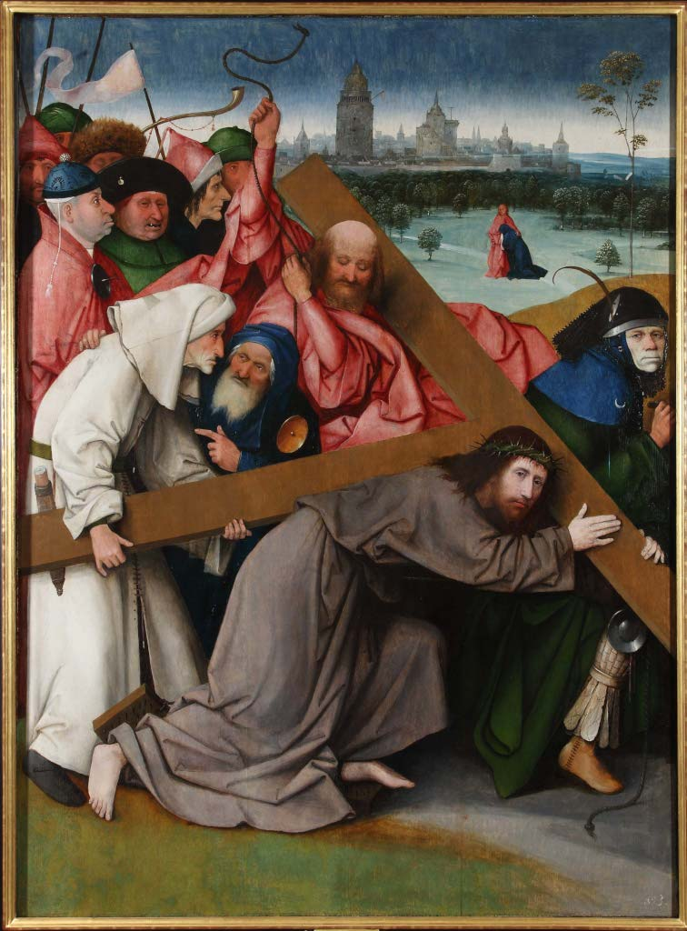 Jheronimus Bosch The Carrying Of The Cross Escorial