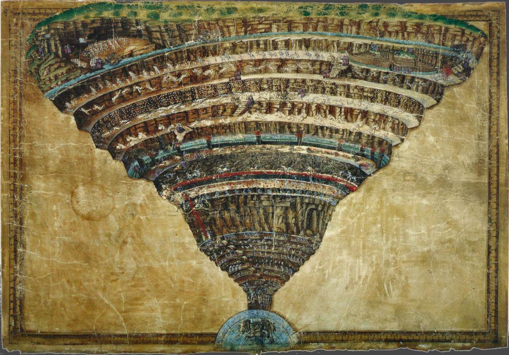 Botticelli (Sandro Filipepi): The Abyss of Hell