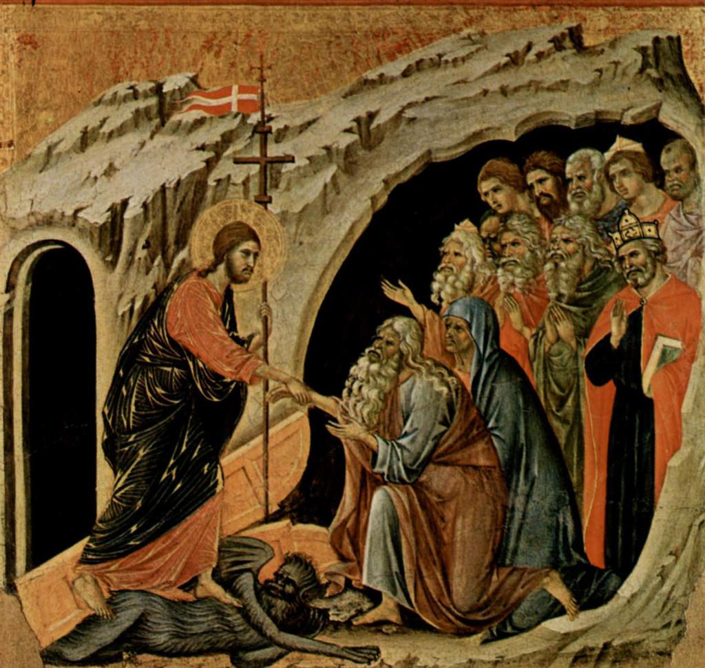 Duccio Di Buoninsegna: Christ In Limbo (Maestà