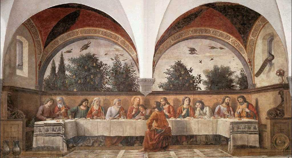 Domenico Ghirlandaio The Last Supper