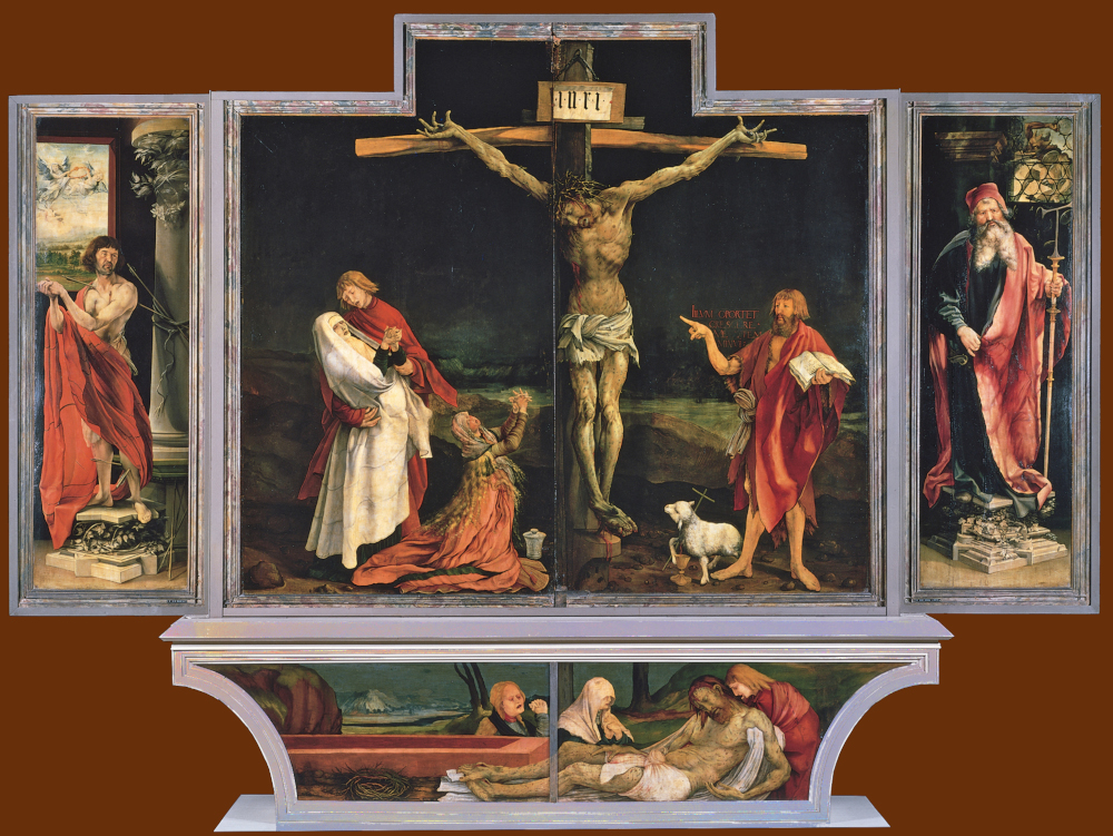Image result for isenheim altarpiece