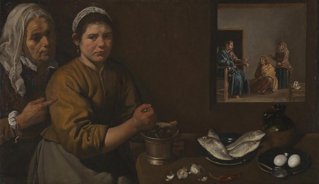 Diego Rodríguez Da Silva Y Velázquez: Christ In The House Of Martha And Mary