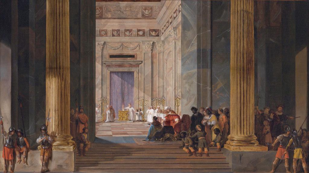 Salomon De Bray The Queen Of Sheba In Jerusalem
