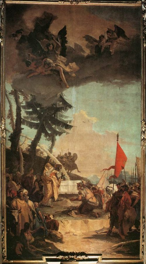 Giovanni Battista Tiepolo: The Sacrifice of Melchizedek