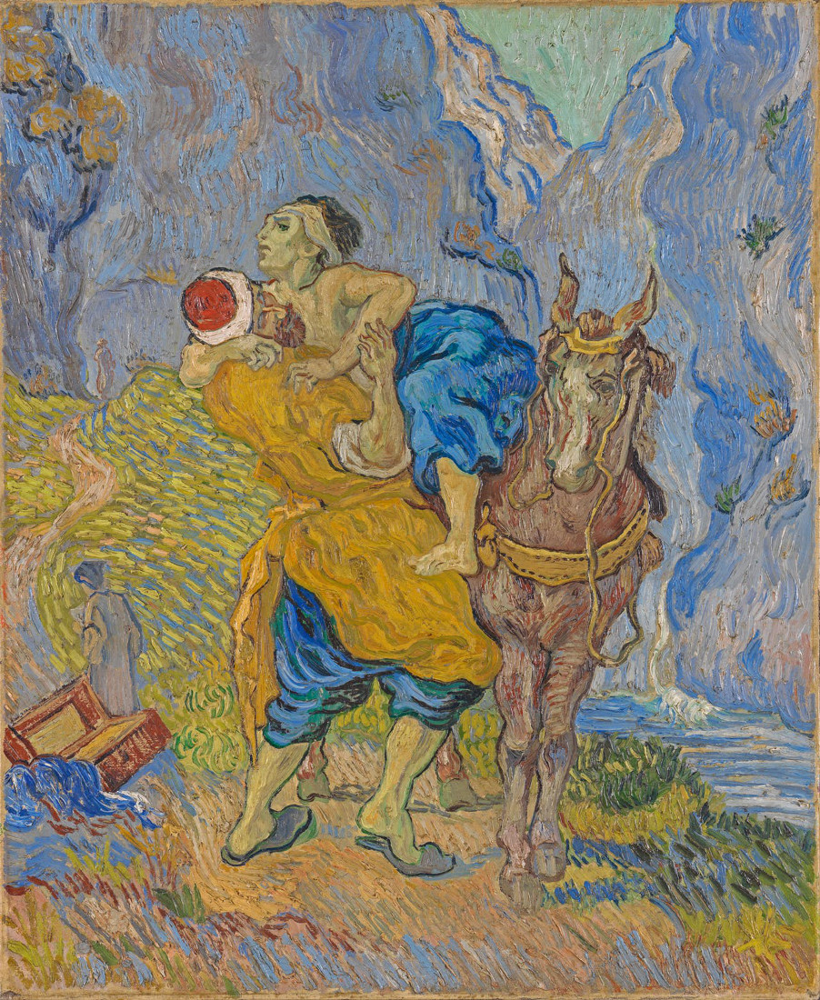 Vincent van Gogh: The Good Samaritan
