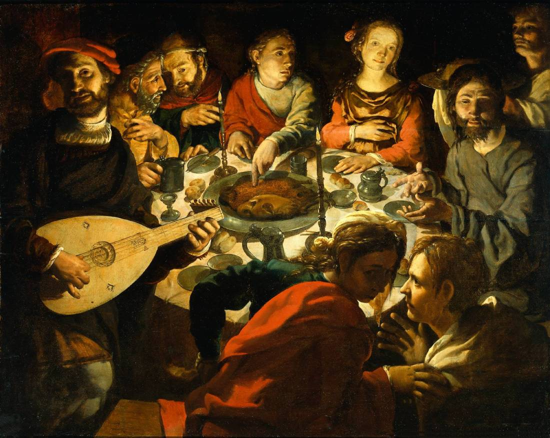 wedding feast at cana painting