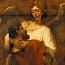 Rembrandt Harmensz. van Rijn: Jacob Wrestling with the Angel