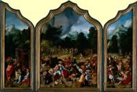 Lucas van Leyden: The Adoration of the Golden Calf