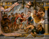 Peter Paul Rubens: Abraham Meets Melchizedek