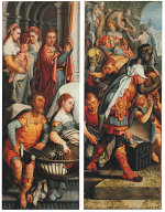 Adoration of the Magi - Presentation in the Temple