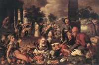 Pieter Aertsen: Christ and the Adulteress