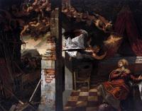 Il Tintoretto: The Annunciation
