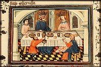 Azor masters: Haman and Ahasuerus visit Esther