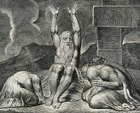 William Blake: The Book of Job -  08