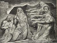 William Blake: The Book of Job -  10