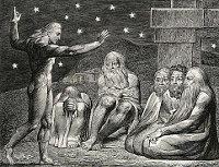 William Blake: The Book of Job -  12