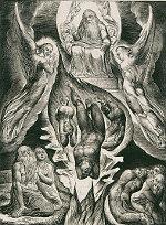 William Blake: The Book of Job -  16