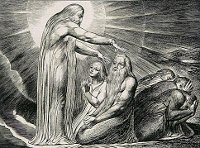 William Blake: The Book of Job -  17