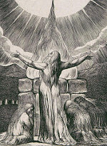 William Blake: The Book of Job -  18