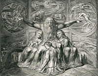 William Blake: The Book of Job -  20