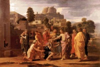 Nicolas Poussin: The Healing of the Blind of Jericho