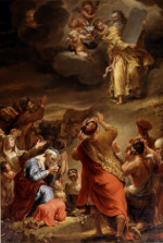 Ferdinand Bol: Moses' Descent from Mount Sinai with the Ten Commandments