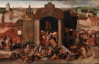 Anonymous: Christ Driving the Traders from the Temple