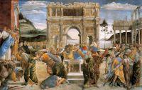 Botticelli (Sandro Filipepi): The Punishment of Korah, Dathan, and Abiram