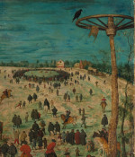 The Procession to Calvary (detail [2])