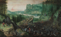 Pieter Bruegel the Elder: Saul (Battle Against The Filistines On The Gilboa)