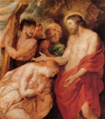 Christ and the penitent sinners